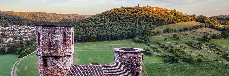 Burg Schadeck und Dilsberg