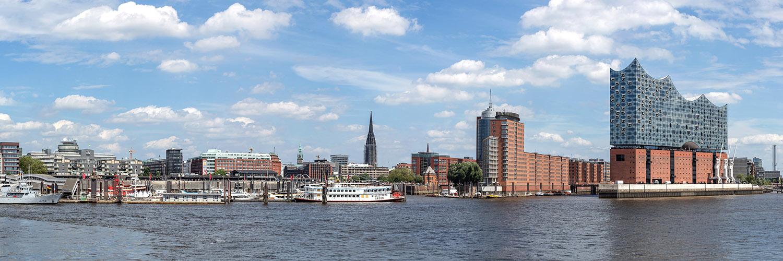 Hamburg Hafen Panorama